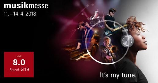 MusikMesse Frankfurt 11-14. 4. 2018